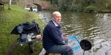 Steve Broome, canal angling