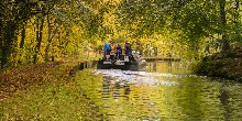 Autumn boating