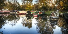 Mooring in autumn