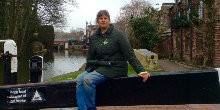 Debbi by the Grand Union Canal