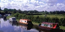 Galgate pre 2003 Lancaster and Ribble Link Canal