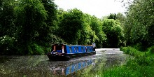 Oxford Canal, rural and peaceful