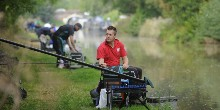 National angling championships canalside