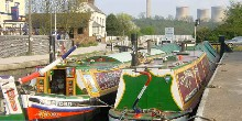 Narrowboats at Trent Lock