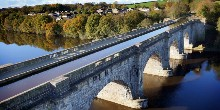 Lune Aqueduct from above