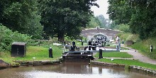 Audlem Locks and Bridge