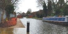 Boats going into Aylesbury