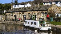 Cafe at the top lock, Bingley