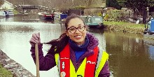 Jodie Weathers, volunteer team leader
