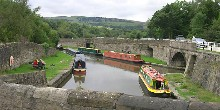 Bugsworth on the Peak Forest Canal