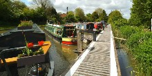 Moorings at Devizes marina
