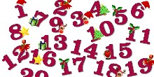 advent numbers collection