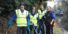 Towpath Taskforce, courtesy of Tony O'Dell
