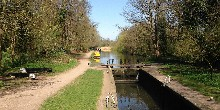 Grand Union Canal at Cassiobury Park