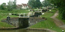 Four locks at Watford: Grand Union Canal