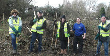 London Towpath Taskforce Team at Hanwell January 2018