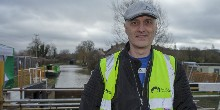 Paul Harry - volunteer lock keeper