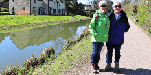 Exploring Bathampton on the Kennet & Avon Canal