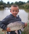 Billy Pitman and his carp catch