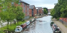 Leigh Branch of the Leeds & Liverpool Canal in Wigan