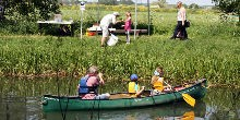 Activities at Pocklington Canal Heritage Open Day 20th May 2018