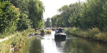 Boats on the Chesterfield Canal, courtesy Richard Croft