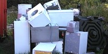 Fly tipping: old washing machines