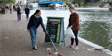 Pick up plastic and litter with our #PlasticsChallenge boards
