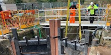 Picketsfield Lock - innovative lock design being fitting
