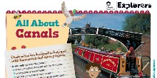 All About Canals fact file front cover