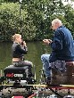 Yorkshire coaching legend Trevor Facer at a Lets Fish event