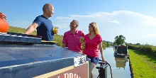 A canal boat holiday allows you to set your own pace