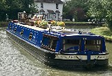 The Wessex Rose cruises the Kennet & Avon and Grand Union Canals and the River Thames