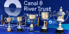 Junior canal angling championships trophies