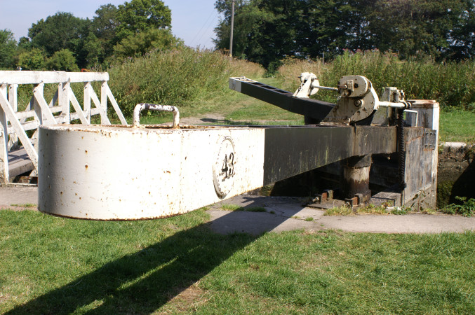 Lock 43, Caen Hill by Anthony Whitney