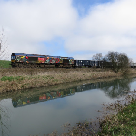 The Freight Never Stops., Kennet and Avon Canal. Crofton. by Philip Taylor