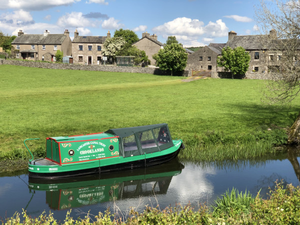 (Beautiful) Waterwitch, Lancaster Canal by Russell Moorhouse