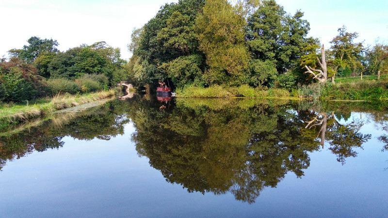 Perfect Peace, Lancaster Canal by Catherine Goss