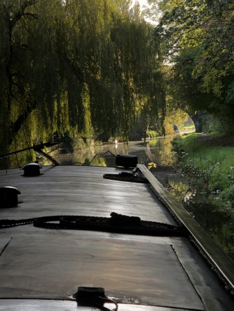 October morning, Lancaster Canal by E Clack