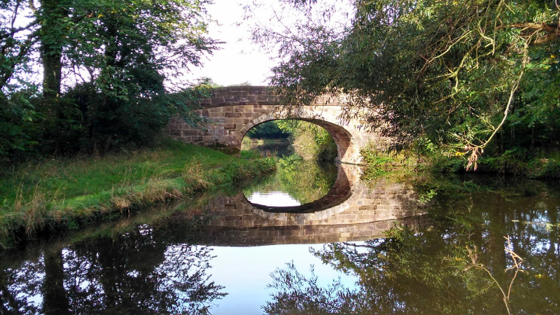 A True Reflection, Lancaster Canal by Catherine Goss