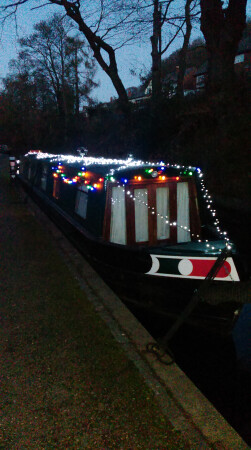 Llangollen Canal Xmas 2016 by Julie Turton