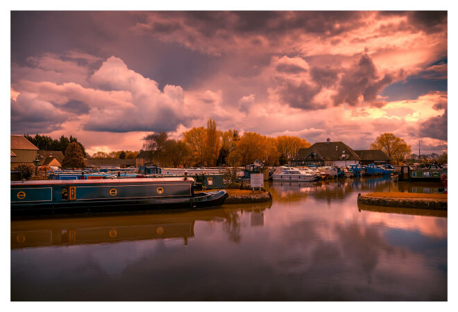 The Marina & Boathouse by Andy Stevens