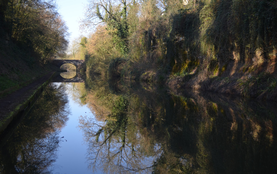 Looking Down From The Horse Tunnel At Shrewley, Grand Union Canal by Shashika Poopalasingham
