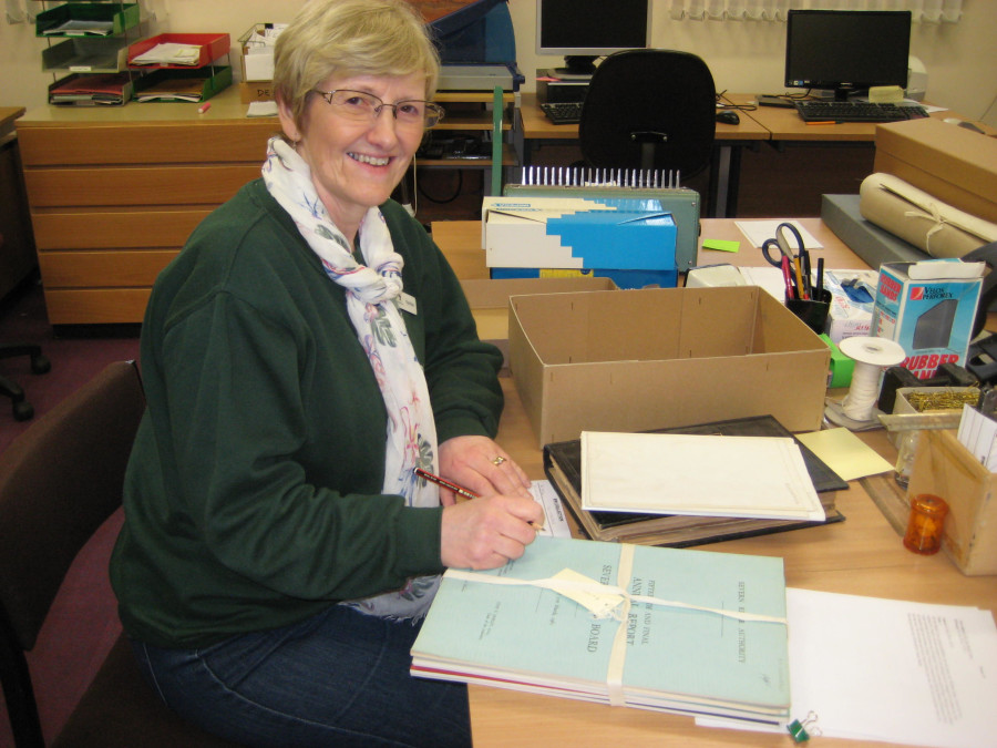 Waterways Archive volunteer-box audit, Shropshire Union Canal by Linda Barley