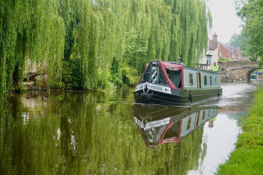 Shropshire Union, Shropshire Union Canal by Shaun Jones